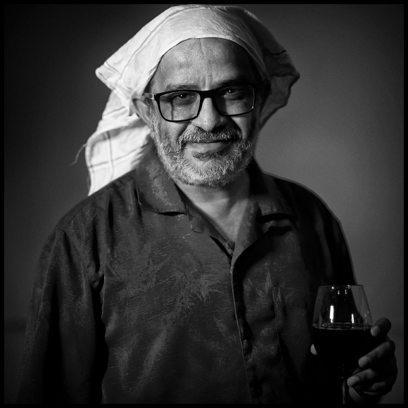 Portrait of Mayank Bhatt by Richard Picton.