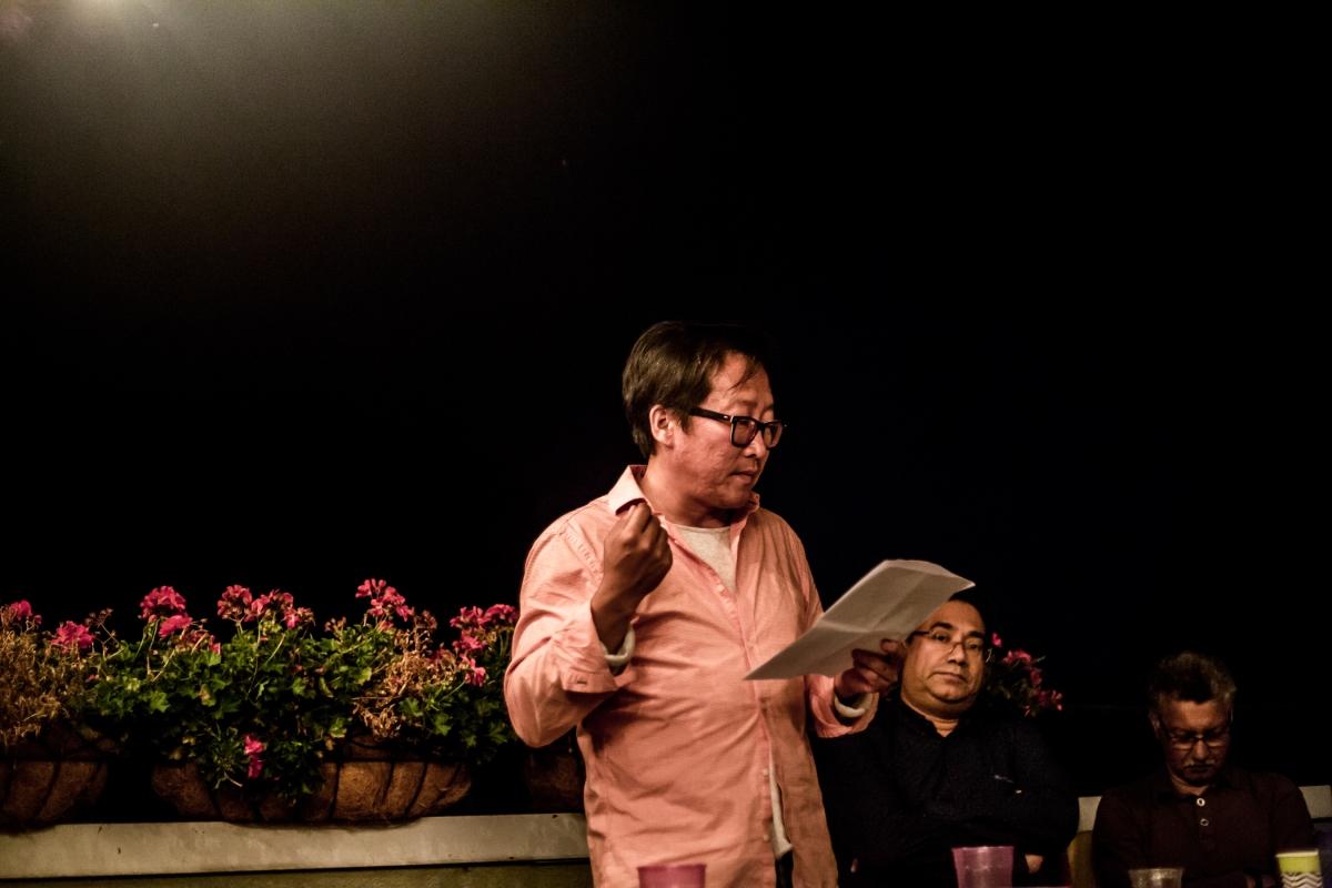 Sang Kim, curating at TTSR 4