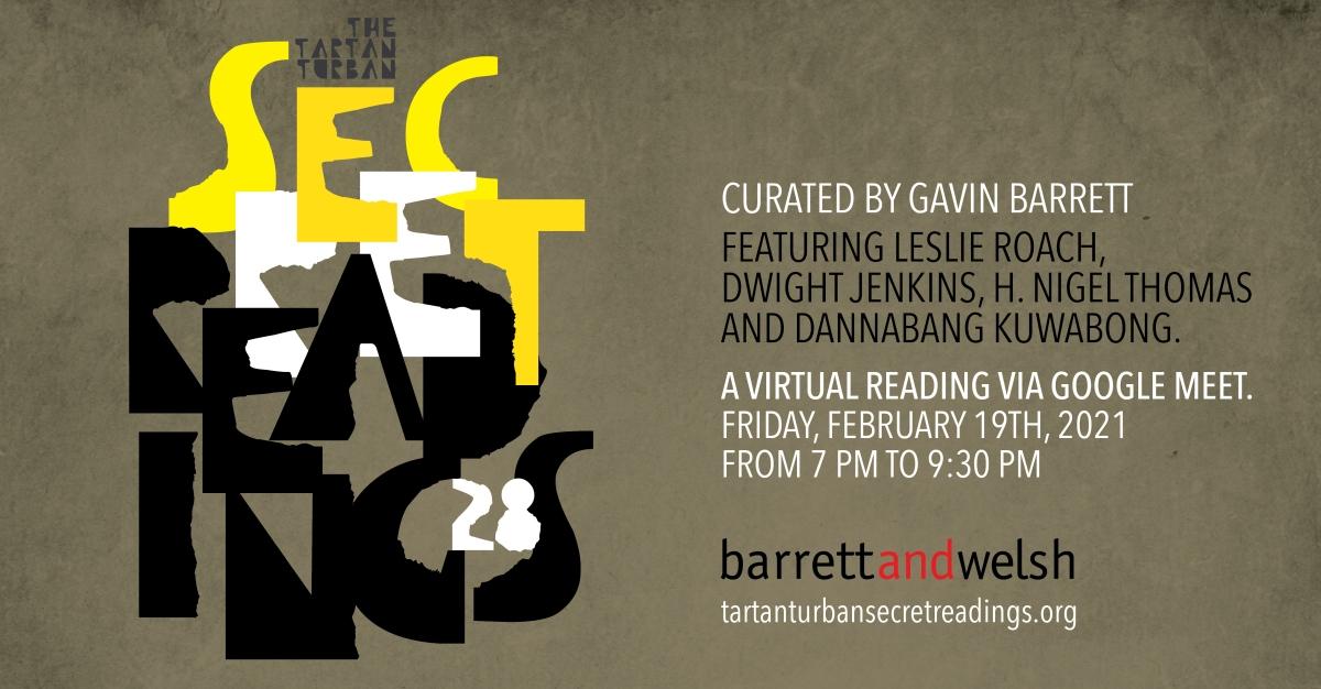 Poster for Tartan Turban Secret Readings #28